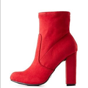 Red Booties| MAKE A OFFER
